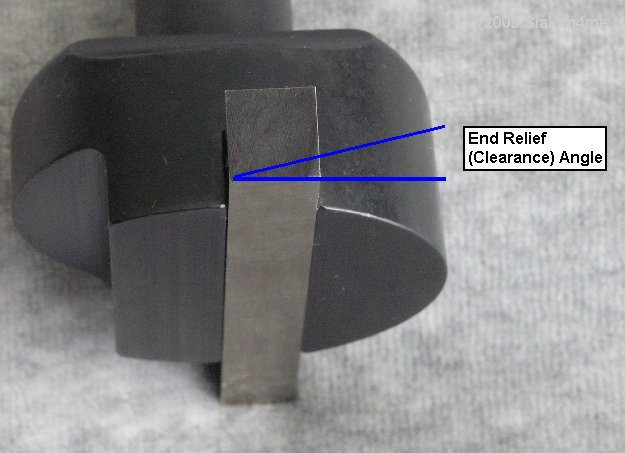Fly Cutter Cutting Tool Bit Geometry